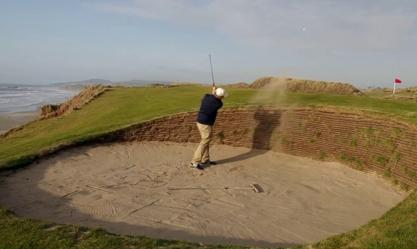 Classic Bunker Shot - Grant Rogers, Director of Instruction